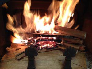 私の薪ストーブ着火方法
