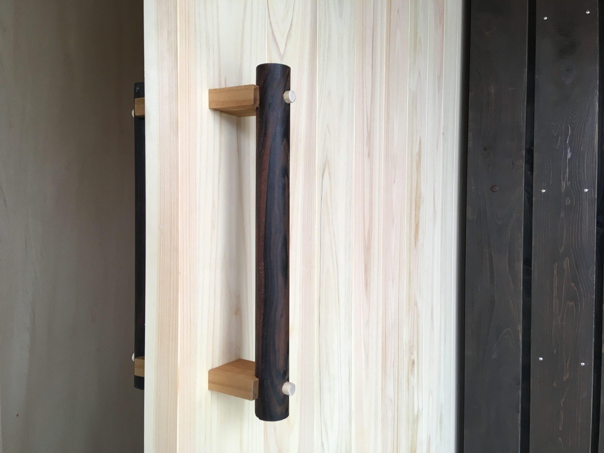 玄関引き戸のドアハンドル