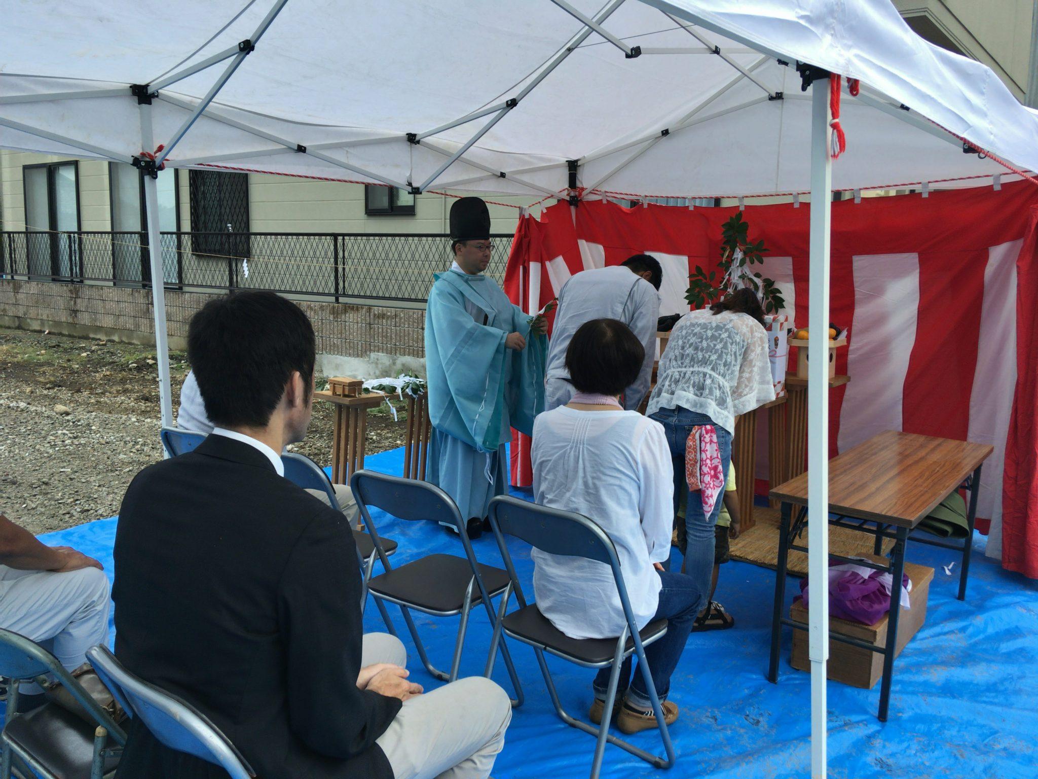 犬山市 地鎮祭