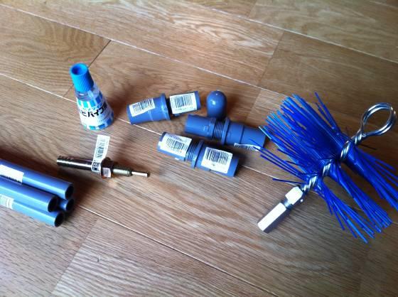 煙突掃除の道具を自作